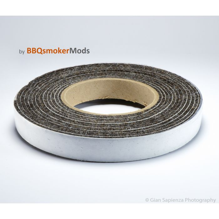 1/8 in. x 3/4 in. Wool Gasket w/ adhesive backing (Technical Felt)