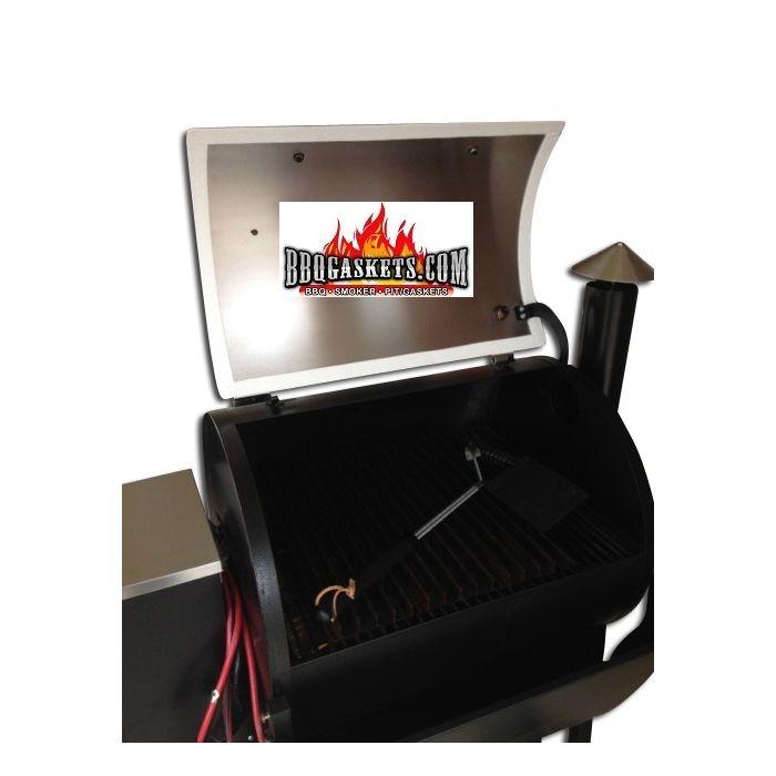 Lid Gasket for Traeger Grills: Premium Nomex® seal (self stick or RTV)