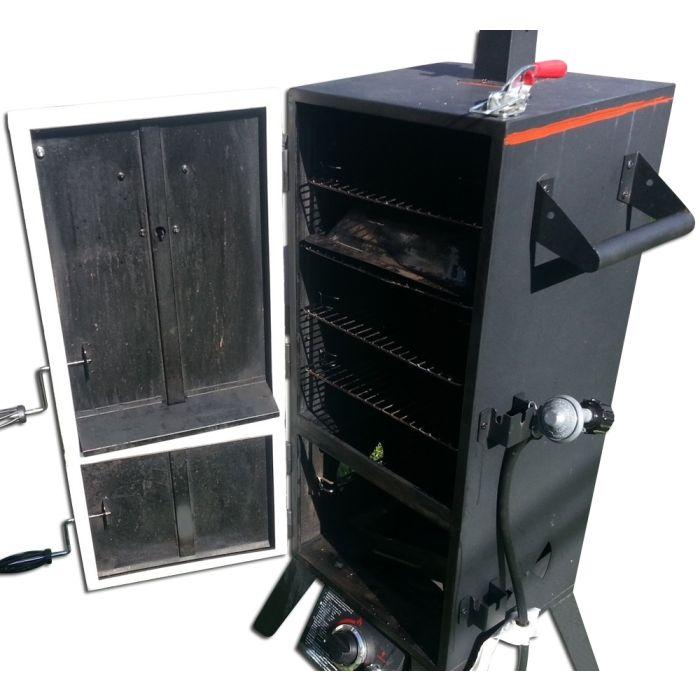 Gasket, Latch & RTV Seal Kit for Master Forge Masterbuilt Chargriller or Brinkmann Vertical
