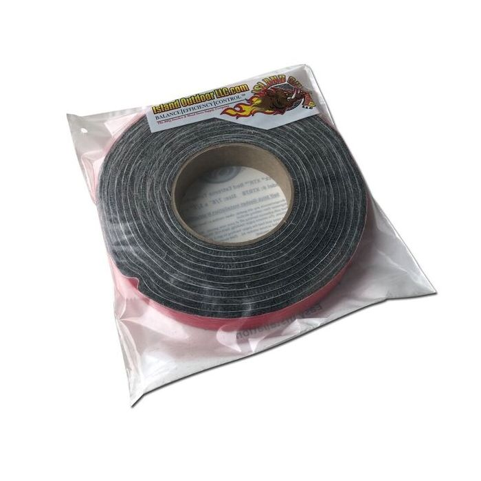 LavaLock® XTR78 - 1000F Self Stick BBQ Gasket - Lifetime Replacement Warranty - 7/8 x 1/8 x 15 ft