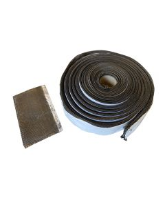 "New Wire Mesh Gasket kit for Kamado Joe / BGE - 1-1/4"" x 150 in. - Self Stick with Seam tape"